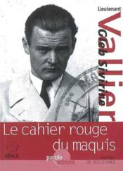 Le cahier rouge du maquis - Couverture - Format classique