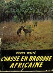 Chasse En Brousse Africaine - Couverture - Format classique