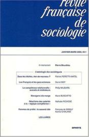 Vente  R F S 1er Trimestre 2002 Vol 4  - Collectif - Xxx