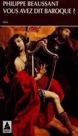 Vous Avez Dit Baroque ? Babel 97 - Intérieur - Format classique