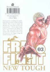 Free fight t.3 - 4ème de couverture - Format classique