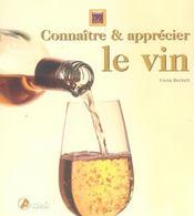 Connaître et apprécier le vin - Intérieur - Format classique