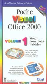 Poche Visuel Office 2000 - Couverture - Format classique