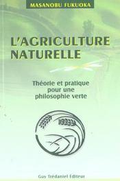 Agriculture Naturelle (L') - Intérieur - Format classique