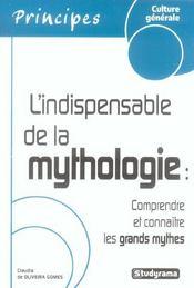 L'Indispensable De La Mythologie - Intérieur - Format classique
