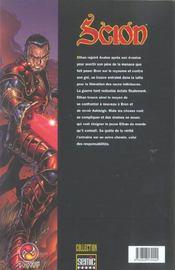 Scion T.2 - 4ème de couverture - Format classique
