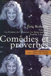 Comedies Et Proverbes Volume I - Intérieur - Format classique