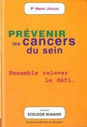 Prévenir les cancers du sein ; ensemble relever le défi... - Intérieur - Format classique