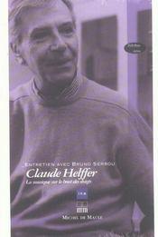 Claude Helffer ; Entretien Avec Bruno Serrou - Intérieur - Format classique