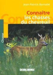 Connaitre La Chasse Du Chevreuil - Intérieur - Format classique