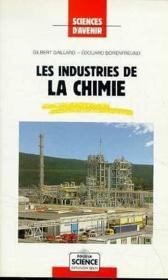 Industries Chimie - Couverture - Format classique