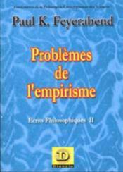 Problèmes de l'empirisme ; écrits philosophiques t.2 - Couverture - Format classique