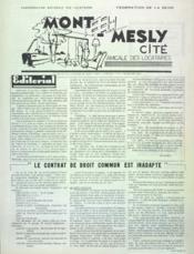 Mont Mesly Cite N°6 du 01/11/1964 - Couverture - Format classique