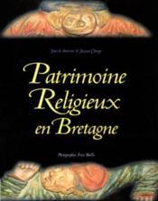 Patrimoine religieux en bretagne - Couverture - Format classique