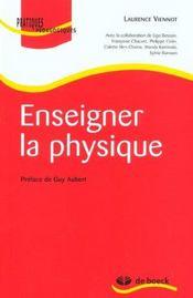 Enseigner la physique - Intérieur - Format classique