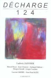 Revue Decharge N.124 ; Décembre 2004 - Intérieur - Format classique