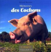 Mémoires des cochons - Couverture - Format classique