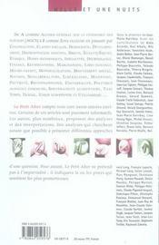 Le petit alter, dictionnaire altermondialiste - 4ème de couverture - Format classique