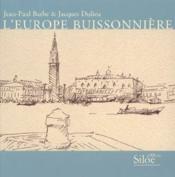 L'europe buissonni re - Couverture - Format classique