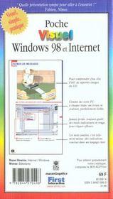 Windows 98, Reseaux Et Internet - 4ème de couverture - Format classique