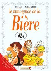 Les mini-guides en bd t.1 ; la biere - Intérieur - Format classique