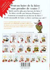 Les mini-guides en bd t.1 ; la biere - 4ème de couverture - Format classique