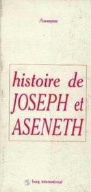 Histoire De Joseph Et Aseneth - Couverture - Format classique