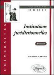 Institutions Juridictionnelles - Intérieur - Format classique