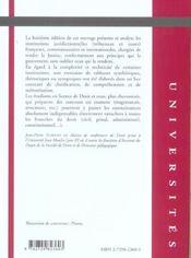 Institutions Juridictionnelles - 4ème de couverture - Format classique