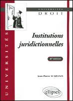 Institutions Juridictionnelles - Couverture - Format classique