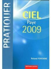 Ciel paye 2009 ; livre de l'élève - Couverture - Format classique