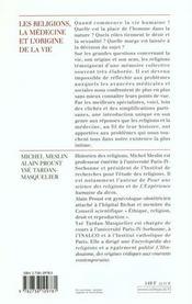 Religions - 4ème de couverture - Format classique