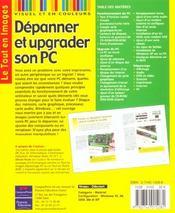 Depannage Et Upgrade Du Pc Tei - 4ème de couverture - Format classique