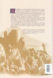 Forteresses Royales En Pays Cathare - 4ème de couverture - Format classique