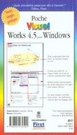 Works 4.5 Pour Windows - 4ème de couverture - Format classique