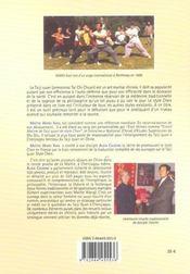 A La Source Du Taiji Quan - 4ème de couverture - Format classique