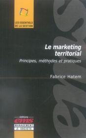 Le Marketing Territorial. Principes, Methodes Et Pratiques - Intérieur - Format classique