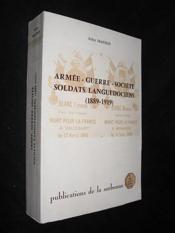 Armee Guerre Societe Sol - Couverture - Format classique