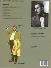 T.6 ; La Marque Jaune - 4ème de couverture - Format classique