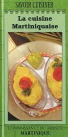 La cuisine martiniquaise - Couverture - Format classique