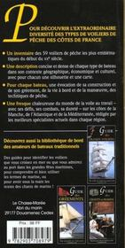 Guide Des Voiliers De Peche - 4ème de couverture - Format classique