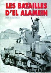 Les batailles d'el alamein - Couverture - Format classique