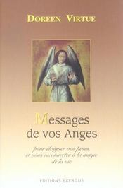 Vente  Messages de vos anges  - Doreen Virtue