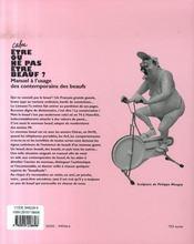 Être ou ne pas être beauf - 4ème de couverture - Format classique