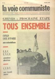 Voie Communiste (La) N°49 du 01/02/1965 - Couverture - Format classique