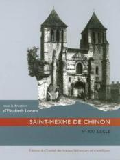 Saint-Mexme de Chinon (Ve - XXe siecle) - Couverture - Format classique