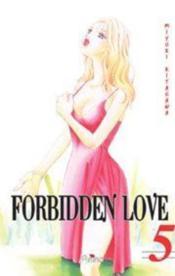 Forbidden Love T.5 - Couverture - Format classique