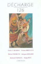 Revue Decharge N.126 ; Juin 2005 - Intérieur - Format classique