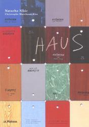 Haus/Exposition Le Plateau 2003 - Intérieur - Format classique