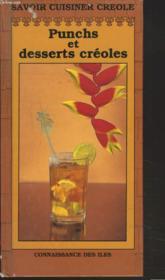 Punchs Et Desserts Creoles - Couverture - Format classique